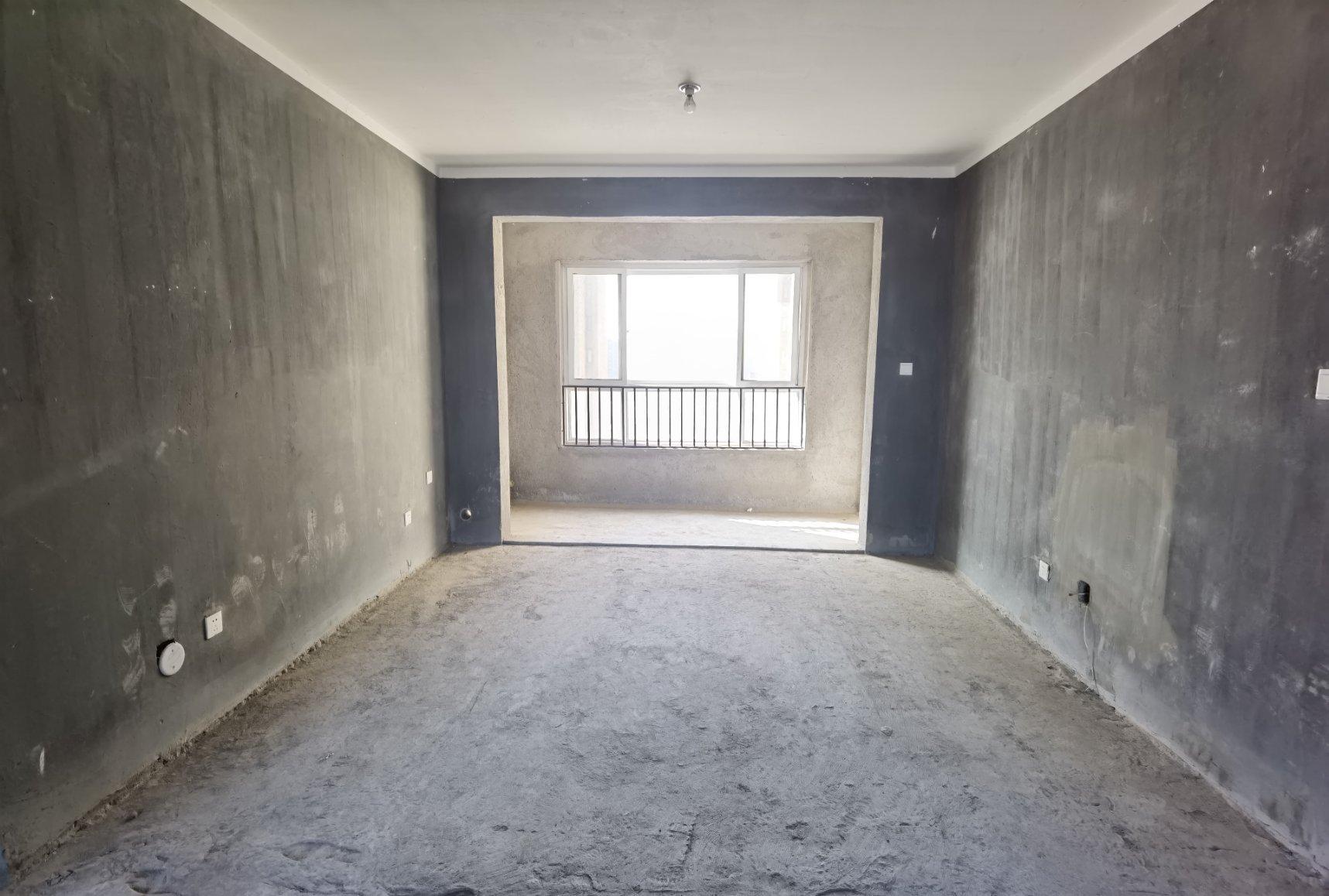 建业 宝龙龙邸 毛坯3室 113平100万 南北通透 全明