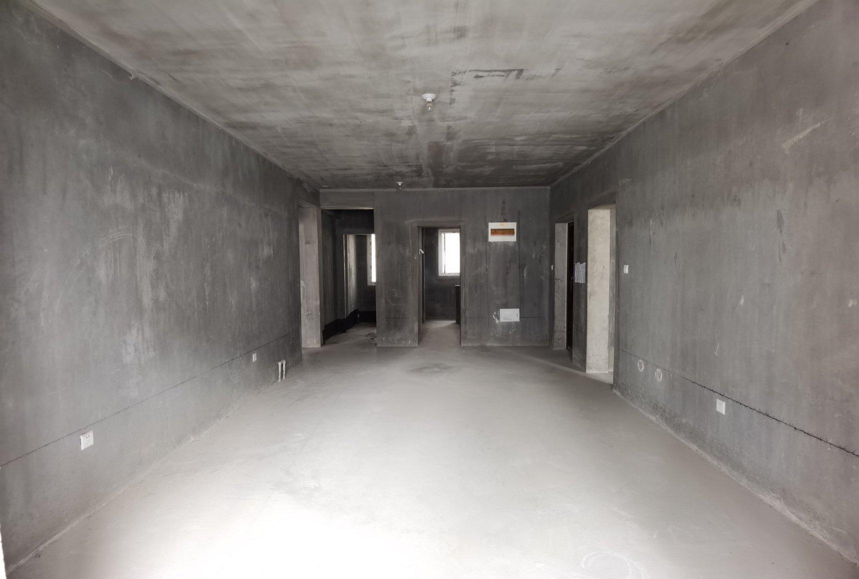 定国湖畔 华恩城 毛坯3室2厅2卫 南北通透 车位(另算)