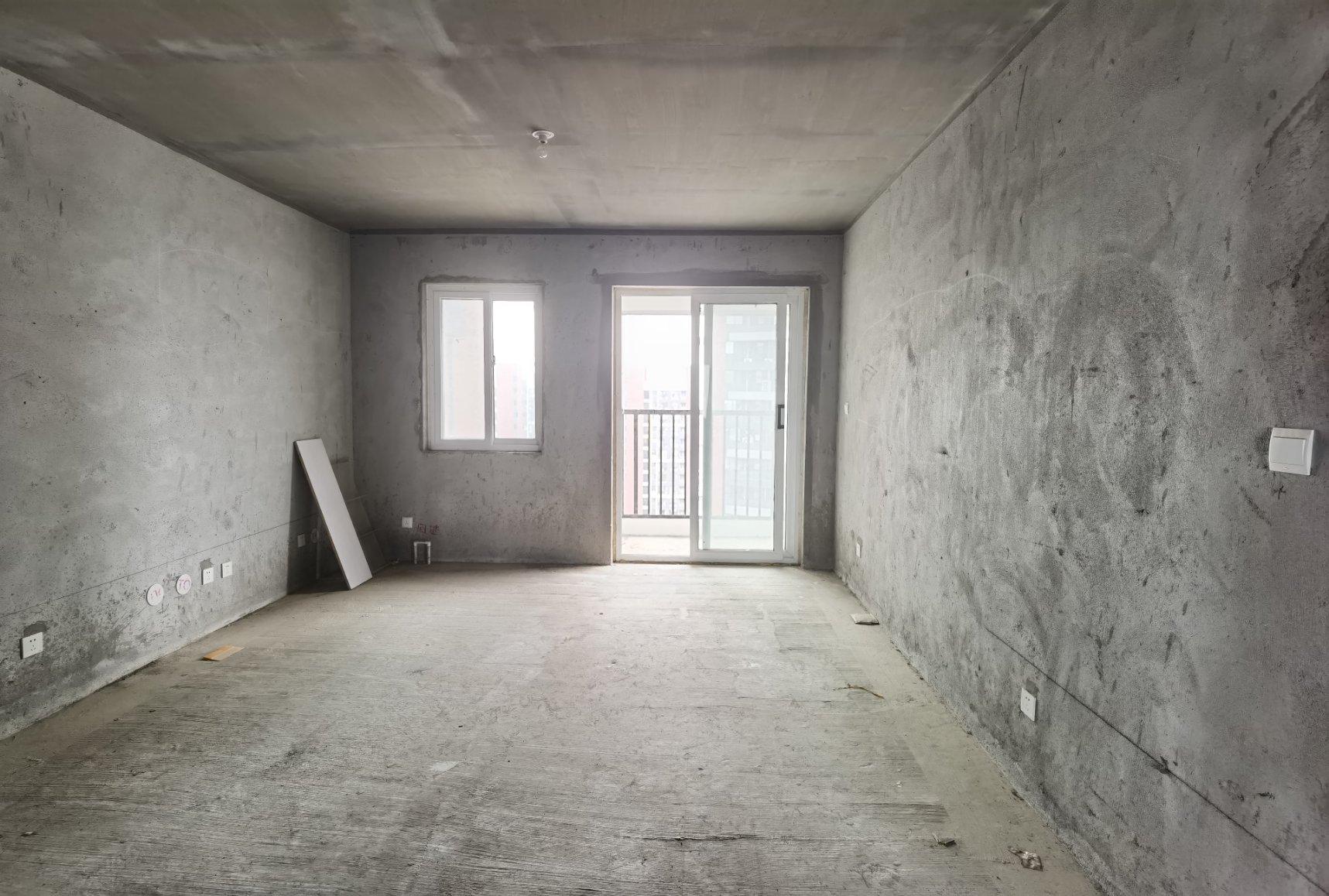单价7千 世纪新城 毛坯3室 136平96万 南北 户型全明