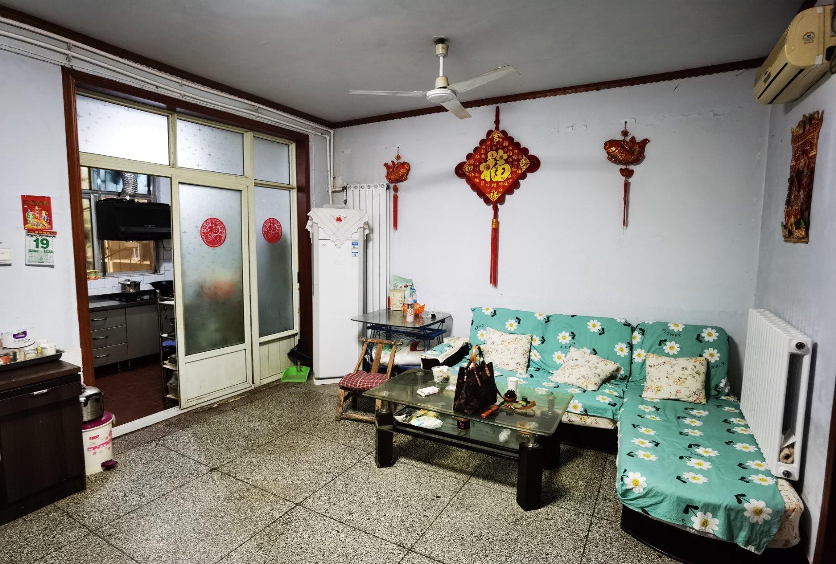 姜庄 怡园小区一楼带院 简装2室 满五位一 姜庄小学十中北校